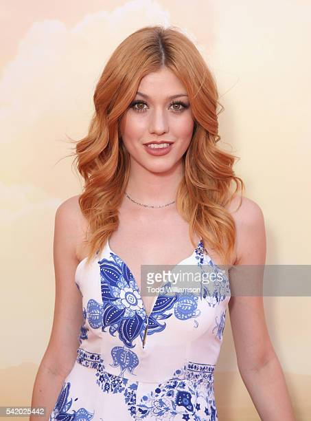 Actress Katherine McNamara attends Disney's 'The BFG' premiere at the El Capitan Theatre on June 21 2016 in Hollywood California
