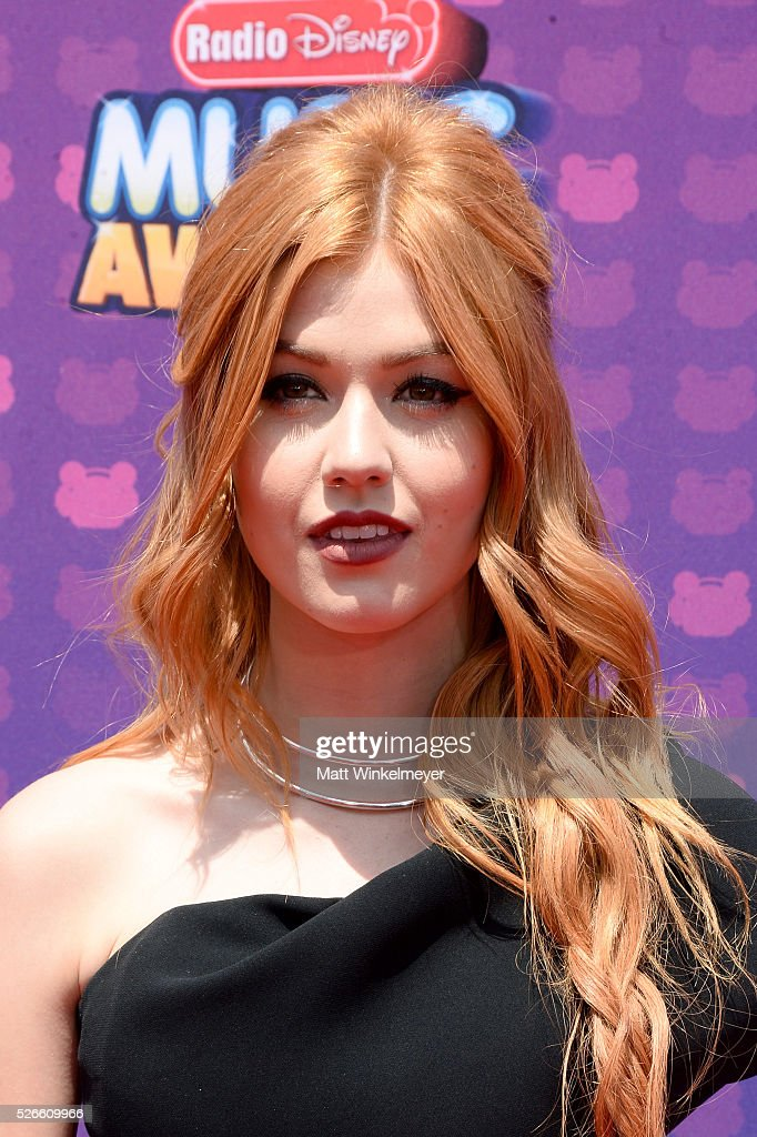 Actress <a gi-track='captionPersonalityLinkClicked' href=/galleries/search?phrase=Katherine+McNamara&family=editorial&specificpeople=6829207 ng-click='$event.stopPropagation()'>Katherine McNamara</a> attends the 2016 Radio Disney Music Awards at Microsoft Theater on April 30, 2016 in Los Angeles, California.