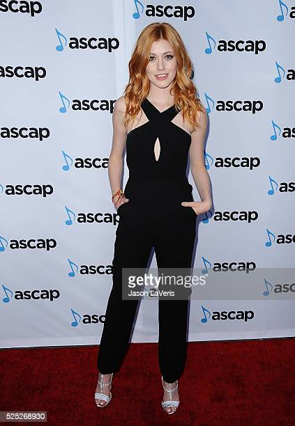 Actress Katherine McNamara attends the 33rd annual ASCAP Pop Music Awards at Dolby Theatre on April 27 2016 in Hollywood California