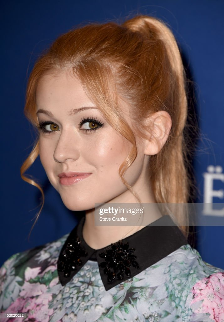 Actress <a gi-track='captionPersonalityLinkClicked' href=/galleries/search?phrase=Katherine+McNamara&family=editorial&specificpeople=6829207 ng-click='$event.stopPropagation()'>Katherine McNamara</a> attends the Hollywood Foreign Press Association's Grants Banquet at The Beverly Hilton Hotel on August 14, 2014 in Beverly Hills, California.