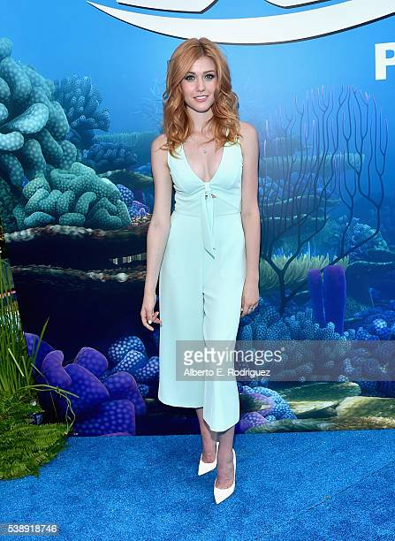 Actress Katherine McNamara attends The World Premiere of DisneyPixar's FINDING DORY on Wednesday June 8 2016 in Hollywood California