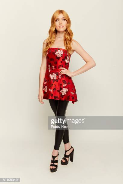 Actress Katherine McNamara of Freeform's 'Shadowhunters' poses for a portrait during ComicCon 2017 at Hard Rock Hotel San Diego on July 20 2017 in...