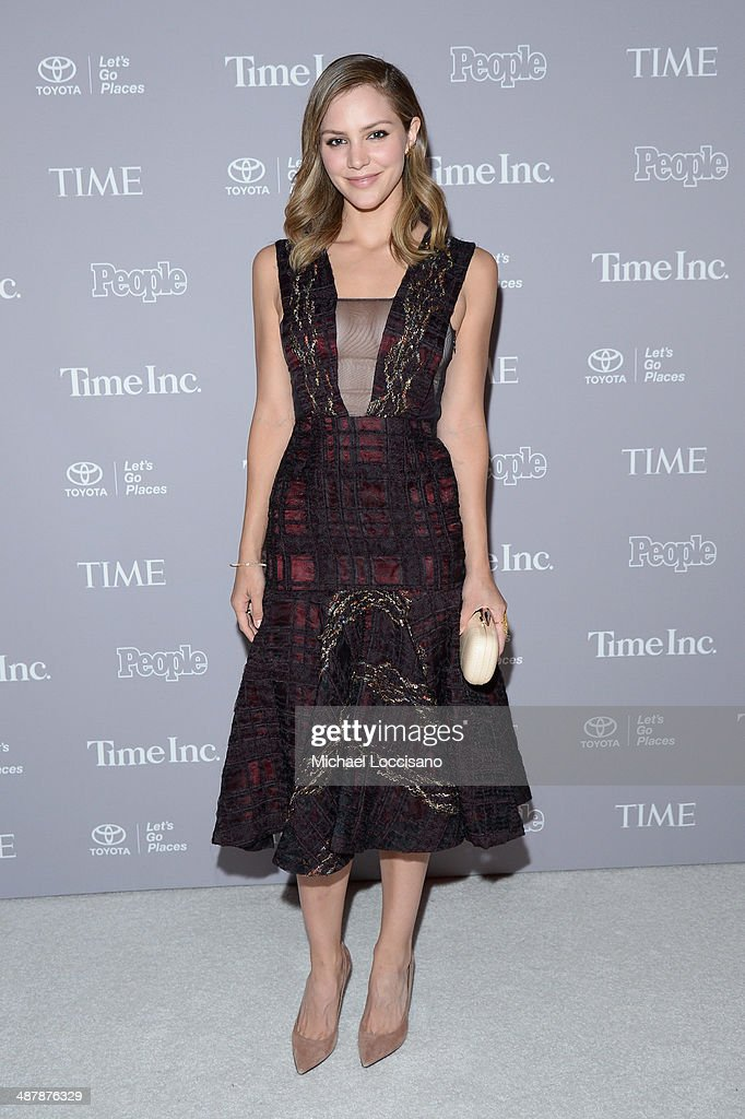 Actress Katherine McPhee attends the PEOPLE/TIME WHCD cocktail party at St Regis Hotel - Astor Terrace on May 2, 2014 in Washington, DC.