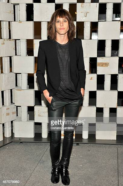 Actress Katherine Moennig attends the Hammer Museum's 12th annual Gala in the Garden with generous support from Bottega Veneta at the Hammer Museum...