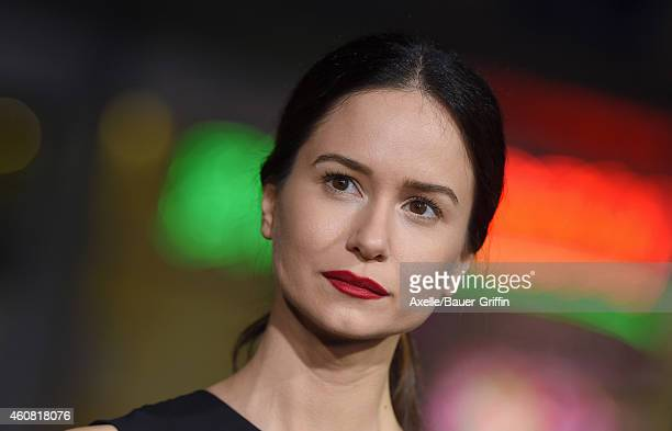 Actress Katherine Waterston arrives at the premiere of 'Inherent Vice' at TCL Chinese Theatre on December 10 2014 in Hollywood California