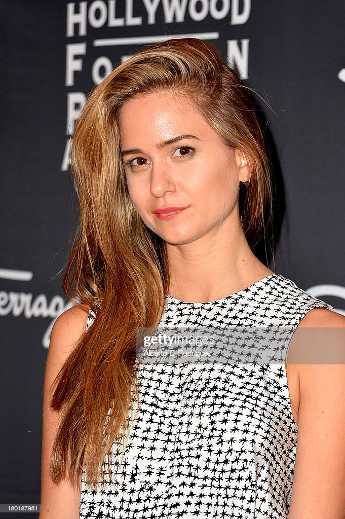 Actress Katherine Waterston arrives at the TIFF HFPA / InStyle Party during the 2013 Toronto International Film Festival at Windsor Arms Hotel on September 9, 2013 in Toronto, Canada.