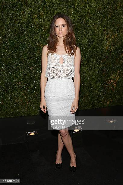Actress Katherine Waterston attends the 2015 Tribeca Film Festival Chanel Artists' Dinner at Balthazar on April 20 2015 in New York City