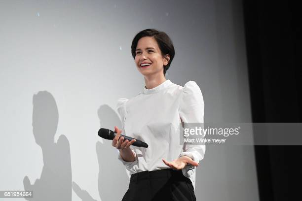 Actress Katherine Waterston attends the 'Alien' premiere 2017 SXSW Conference and Festivals on March 10 2017 in Austin Texas