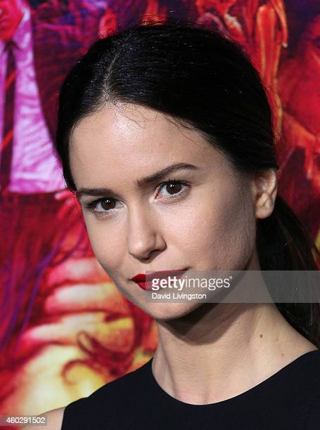 Actress Katherine Waterston attends the pemiere of Warner Bros Pictures' 'Inherent Vice' at the TCL Chinese Theatre on December 10 2014 in Hollywood...