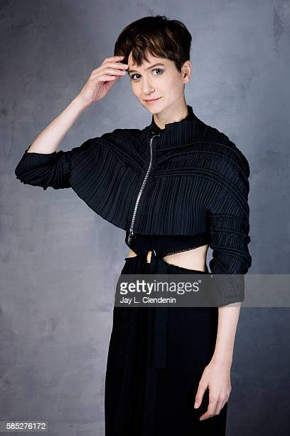 Actress Katherine Waterston of 'Fantastic Beasts and Where to Find Them' is photographed for Los Angeles Times at San Diego Comic Con on July 22 2016...