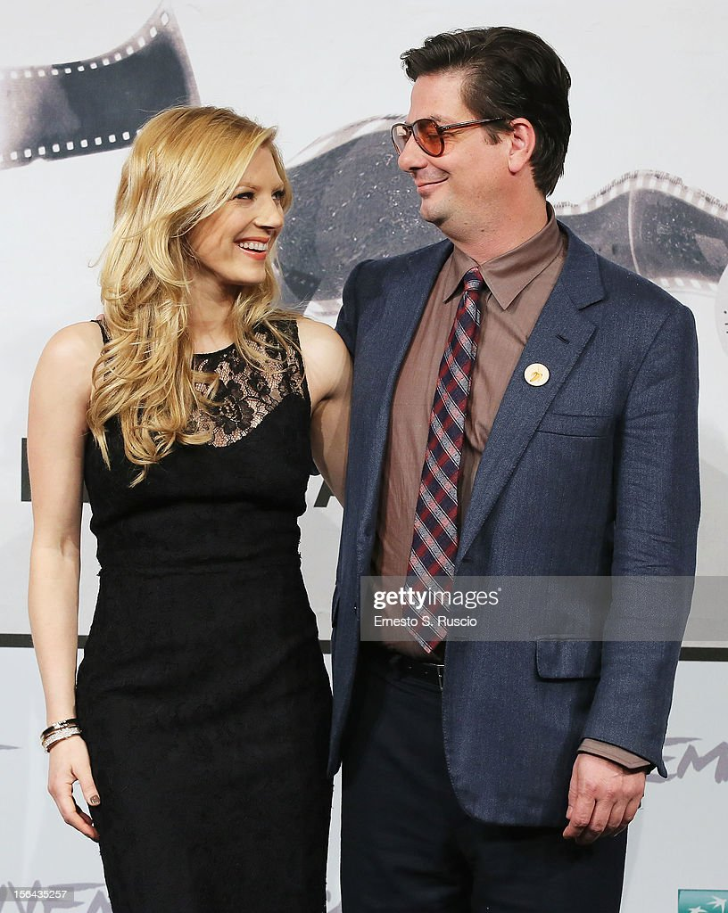 Actress Katheryn Winnick and director Roman Coppola attend the 'A Glimpse Inside The Mind Of Charles Swan III' Photocall during the 7th Rome Film Festival at the Auditorium Parco Della Musica on November 15, 2012 in Rome, Italy.