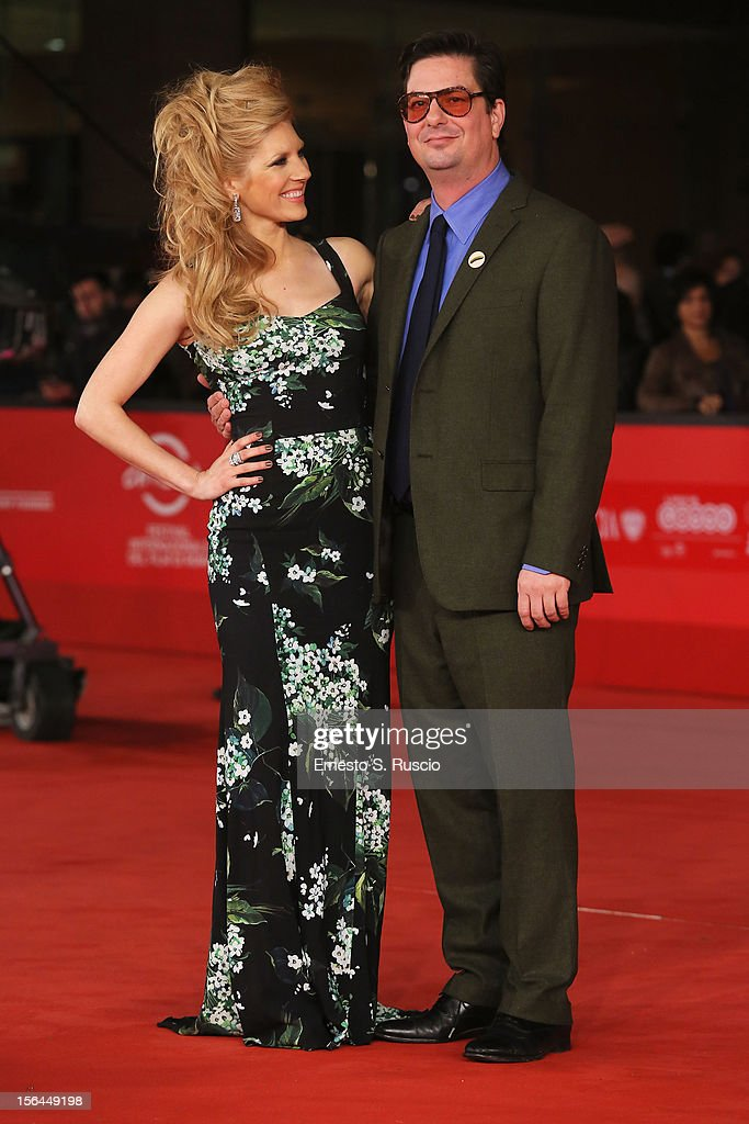Actress Katheryn Winnick and director Roman Coppola attend the 'A Glimpse Inside The Mind Of Charles Swan III' Premiere during the 7th Rome Film Festival at the Auditorium Parco Della Musica on November 15, 2012 in Rome, Italy.