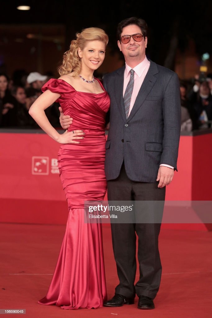 Actress Katheryn Winnick and director Roman Coppola attend the Closing Ceremony during the 7th Rome Film Festival at Auditorium Parco Della Musica on November 17, 2012 in Rome, Italy.