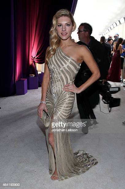Actress Katheryn Winnick attends ROCA PATRON TEQUILA at the 23rd Annual Elton John AIDS Foundation Academy Awards Viewing Party on February 22 2015...
