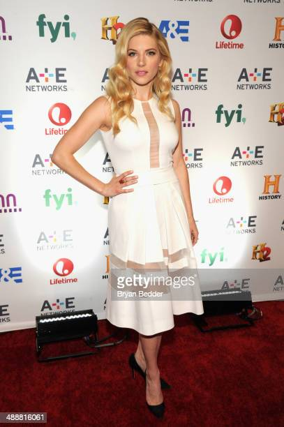 Actress Katheryn Winnick attends the 2014 AE Networks Upfront on May 8 2014 in New York City