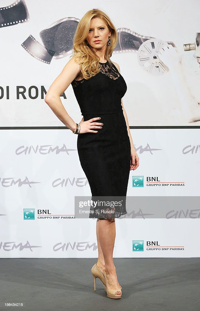 Actress Katheryn Winnick attends the 'A Glimpse Inside The Mind Of Charles Swan III' Photocall during the 7th Rome Film Festival at the Auditorium Parco Della Musica on November 15, 2012 in Rome, Italy.