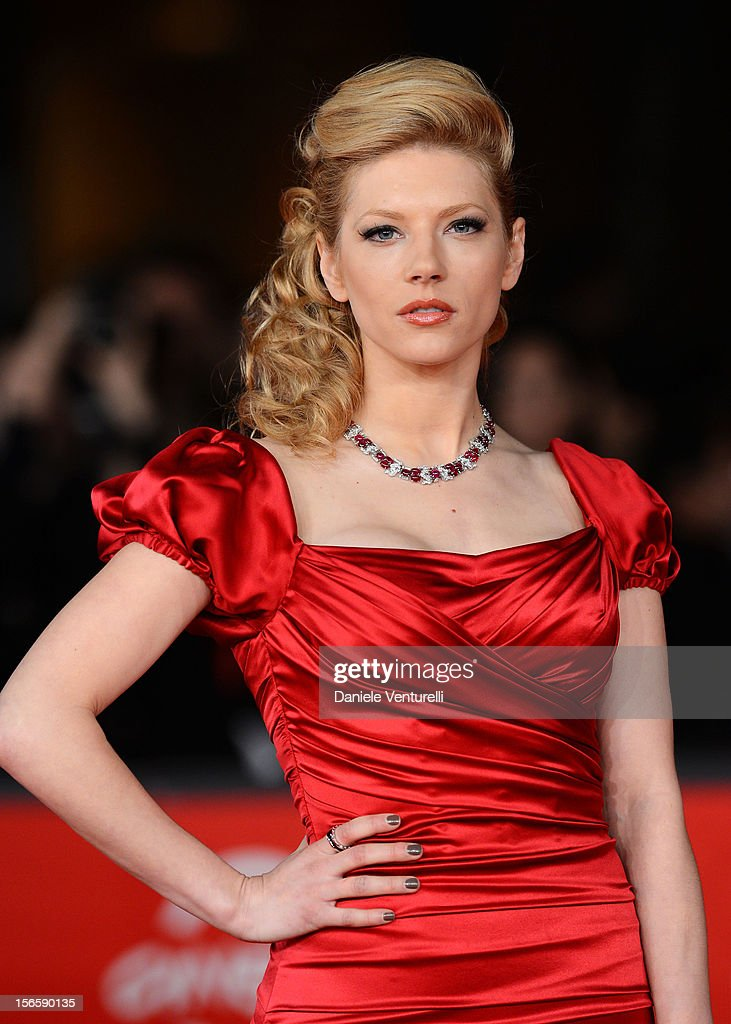 Actress Katheryn Winnick attends the Closing Ceremony Red Carpet during the 7th Rome Film Festival at the Auditorium Parco Della Musica on November 17, 2012 in Rome, Italy.