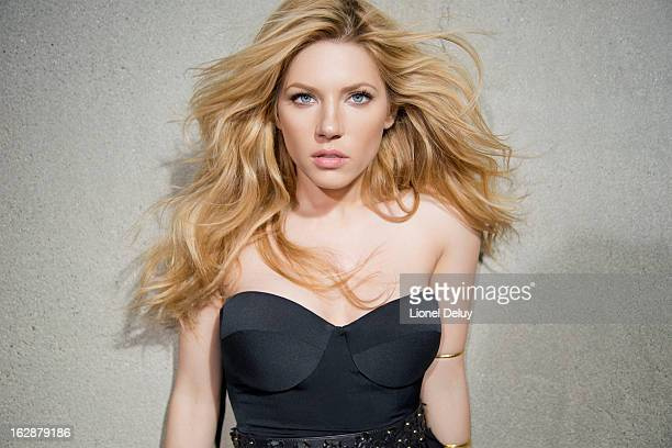 Actress Katheryn Winnick is photographed for Malibu Magazine on January 24 2013 in Los Angeles California
