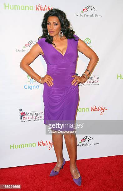 Actress Kathleen Bradley arrives at the Los Angeles Kentucky Derby Prelude Party at The London Hotel on January 12 2012 in West Hollywood California