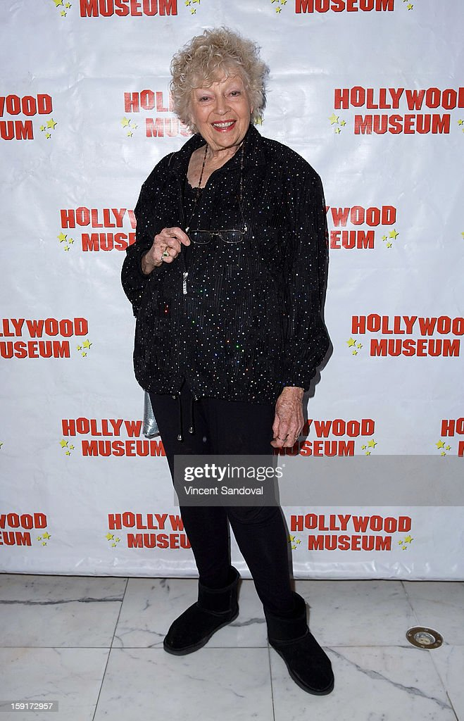 Actress Kathleen Hughes attends The Hollywood Museum's 'Loretta Young: Hollywood Legend' exhibit opening party at The Hollywood Museum on January 8, 2013 in Hollywood, California.