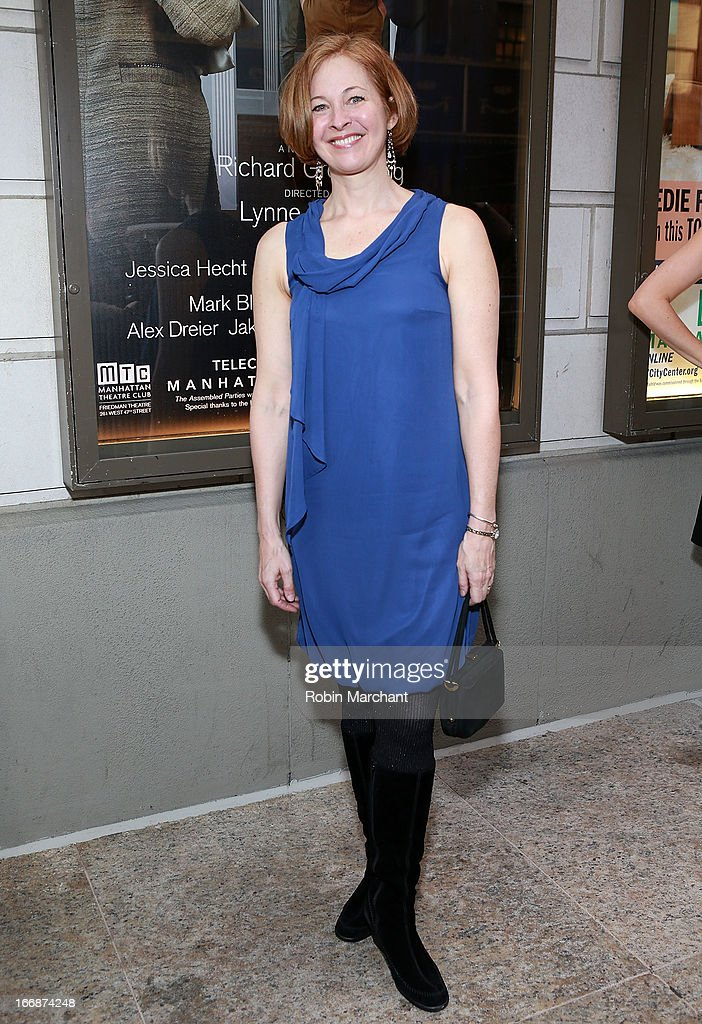 Actress Kathleen McNenny attends the 'The Assembled Parties' opening night at Samuel J. Friedman Theatre on April 17, 2013 in New York City.