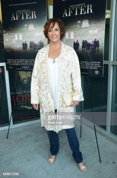 Actress Kathleen Quinlan attends 'After' Los Angeles premiere at Laemmle NoHo 7 on August 15 2014 in North Hollywood California