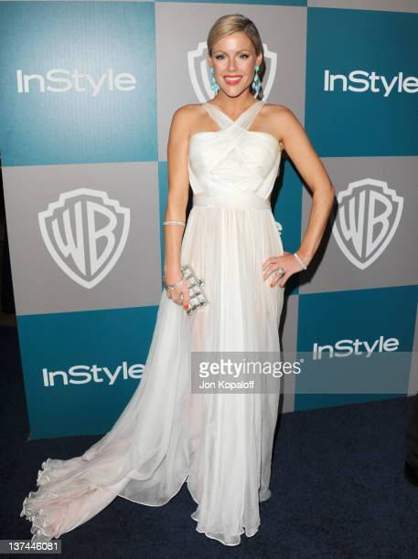 Actress Kathleen Robertson arrives at the 13th Annual Warner Bros And InStyle Golden Globe After Party held at The Beverly Hilton hotel on January 15...