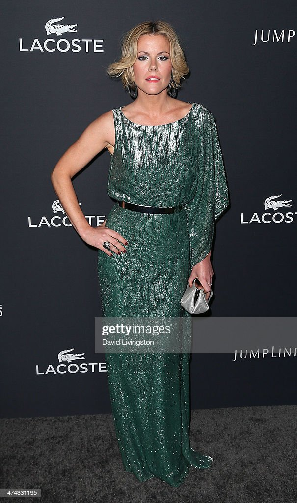 Actress Kathleen Robertson attends the 16th Costume Designers Guild Awards with presenting sponsor Lacoste at The Beverly Hilton Hotel on February 22, 2014 in Beverly Hills, California.