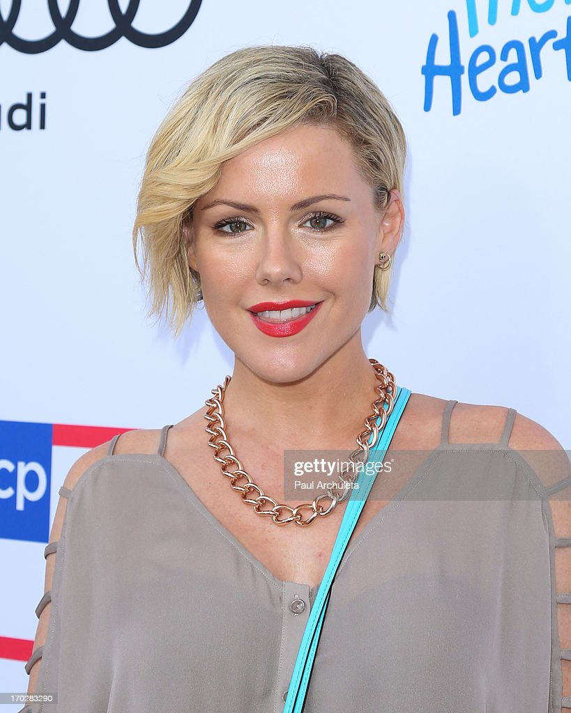 Actress Kathleen Robertson attends the 1st annual Children Mending Hearts Style Sunday on June 9, 2013 in Beverly Hills, California.
