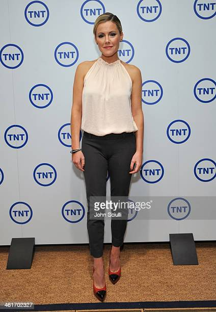 Actress Kathleen Robertson attends the 2014 TCA Winter Press Tour Turner Broadcasting Presentation on January 10 2014 in Pasadena California