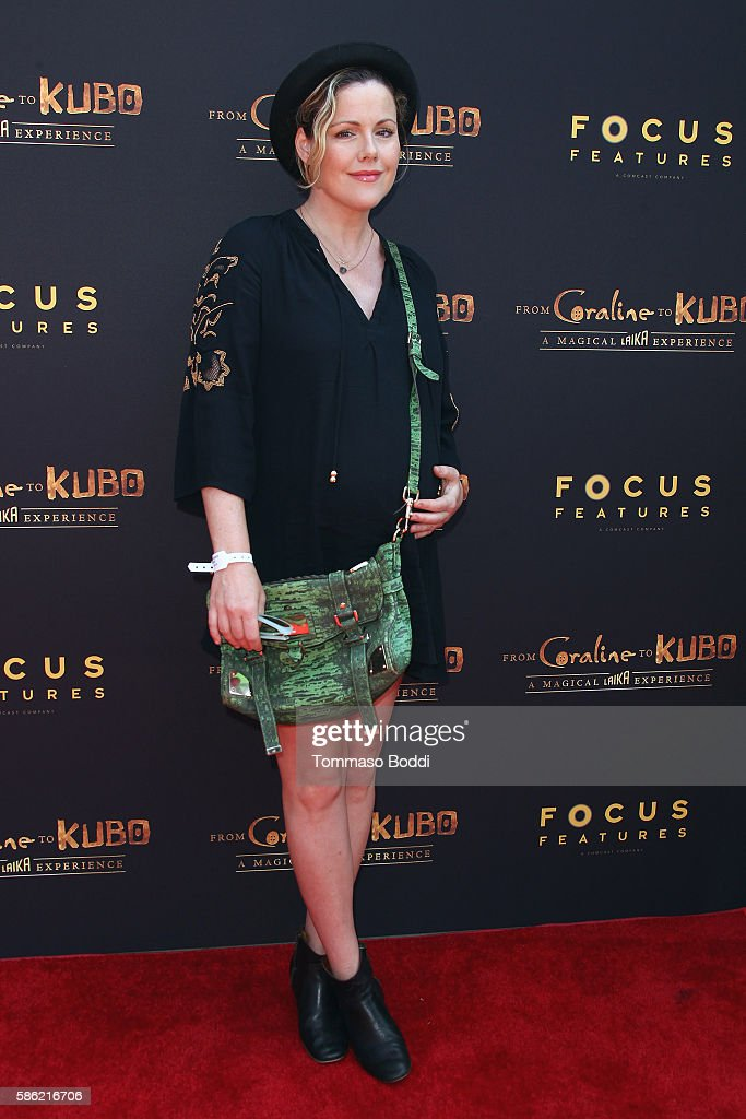 Actress Kathleen Robertson attends the From Coraline To Kubo A Magical Laika Experience at The Globe Theatre on August 5 2016 in Universal City...
