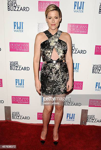 Actress Kathleen Robertson attends the premiere of 'White Bird in a Blizzard' at ArcLight Hollywood on October 21 2014 in Hollywood California