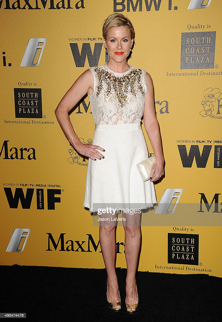 Actress Kathleen Robertson attends the Women In Film 2014 Crystal + Lucy Awards at the Hyatt Regency Century Plaza on June 11, 2014 in Century City, California.