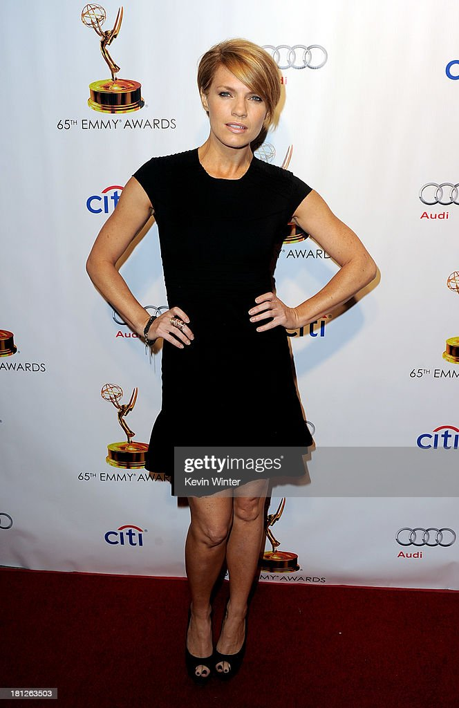Actress <a gi-track='captionPersonalityLinkClicked' href=/galleries/search?phrase=Kathleen+Rose+Perkins&family=editorial&specificpeople=6559671 ng-click='$event.stopPropagation()'>Kathleen Rose Perkins</a> arrives at the 65th Primetime Emmy Awards Writer Nominees reception at the Academy of Television Arts & Sciences on September 19, 2013 in No. Hollywood, California.