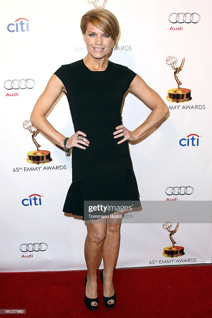 Actress <a gi-track='captionPersonalityLinkClicked' href=/galleries/search?phrase=Kathleen+Rose+Perkins&family=editorial&specificpeople=6559671 ng-click='$event.stopPropagation()'>Kathleen Rose Perkins</a> attends the 65th Emmy Awards Writers Nominee reception held at the Leonard H. Goldenson Theatre on September 19, 2013 in North Hollywood, California.