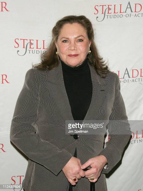 Actress Kathleen Turner arrives at the 4th Annual Stella by Starlight Gala Benefit Honoring Martin Sheen at Chipriani 23rd st on March 17 2008 in New...