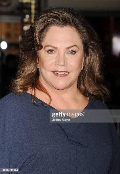 Actress Kathleen Turner arrives at the Los Angeles premiere of 'Dumb And Dumber To' at Regency Village Theatre on November 3 2014 in Westwood...