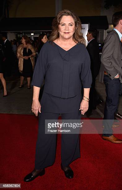 Actress Kathleen Turner arrives at the premiere of Universal Pictures and Red Granite Pictures' 'Dumb And Dumber To' on November 3 2014 in Westwood...
