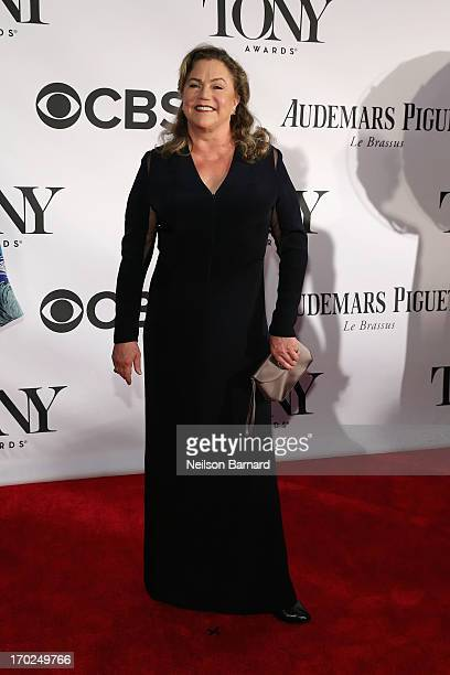 Actress Kathleen Turner attends The 67th Annual Tony Awards at Radio City Music Hall on June 9 2013 in New York City