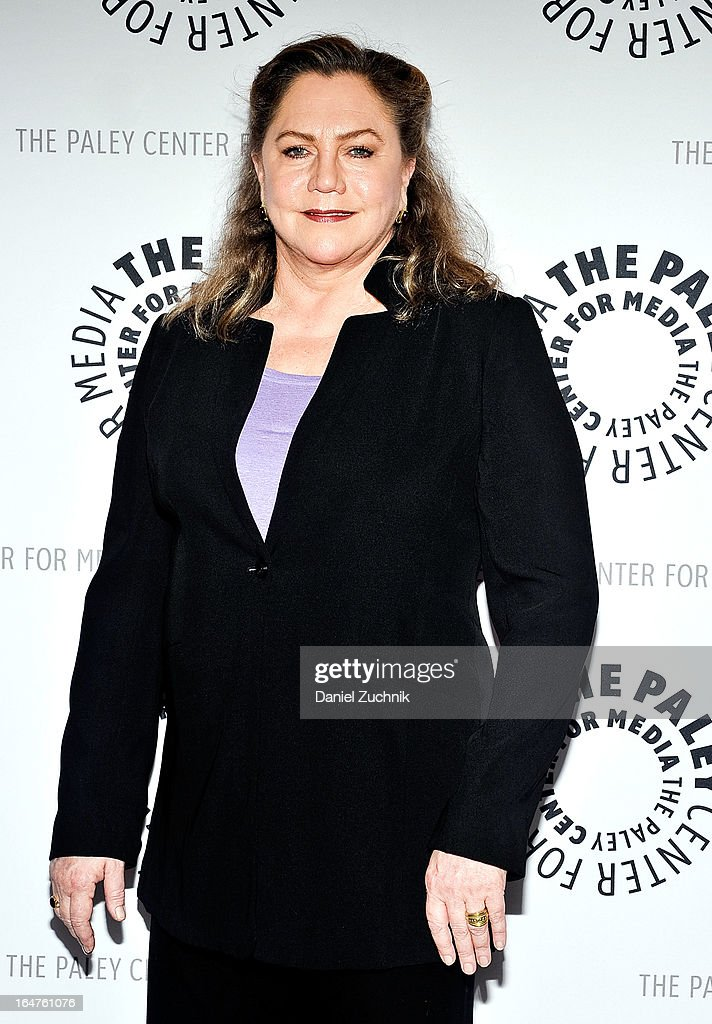 Actress Kathleen Turner attends The Paley Center For Media Presents: 'The Stages Of Edward Albee' at Paley Center For Media on March 27, 2013 in New York City.