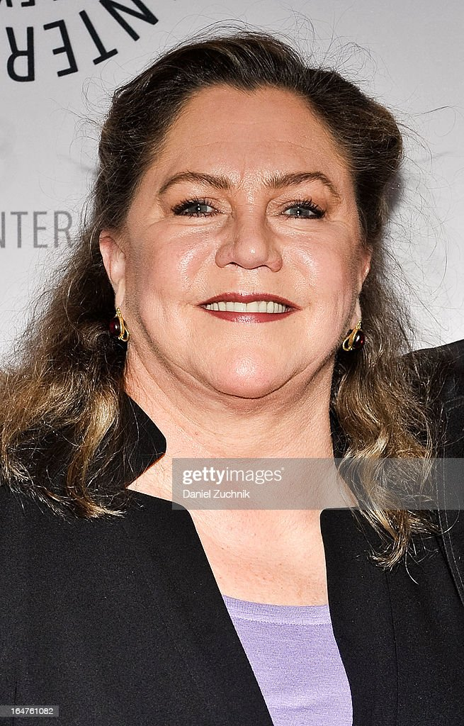 Actress <a gi-track='captionPersonalityLinkClicked' href=/galleries/search?phrase=Kathleen+Turner&family=editorial&specificpeople=202649 ng-click='$event.stopPropagation()'>Kathleen Turner</a> attends The Paley Center For Media Presents: 'The Stages Of Edward Albee' at Paley Center For Media on March 27, 2013 in New York City.