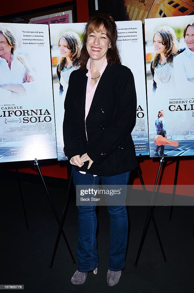 Actress Kathleen Wilhoite arrives at 'California Solo' Los Angeles premiere at the Nuart Theatre on December 7, 2012 in West Los Angeles, California.