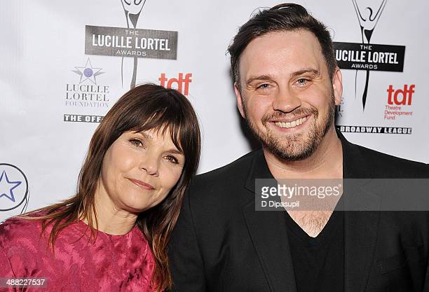 Actress Kathryn Erbe and guest attend the 29th Annual Lucille Lortel Awards at NYU Skirball Center on May 4 2014 in New York City