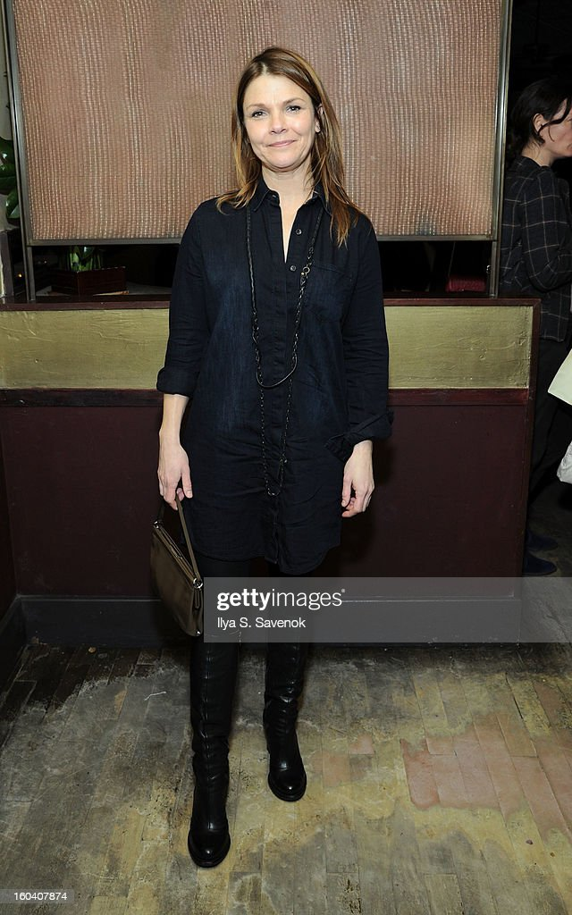 Actress Kathryn Erbe attends 'All The Rage' Opening Night on January 30, 2013 in New York, United States.