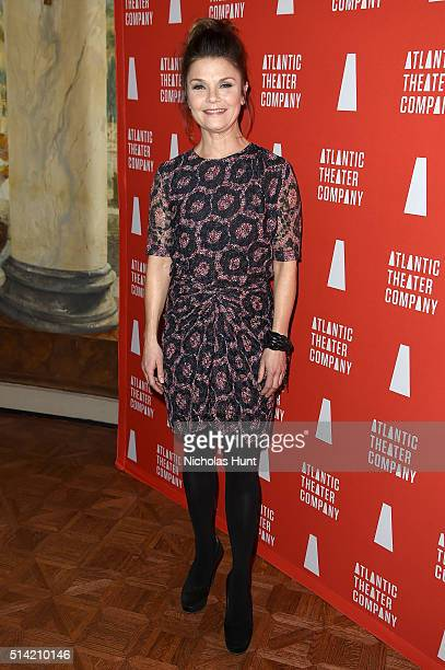 Actress Kathryn Erbe attends the 2016 Atlantic Theater Company Actors' Choice Gala at The Pierre Hotel on March 7 2016 in New York City