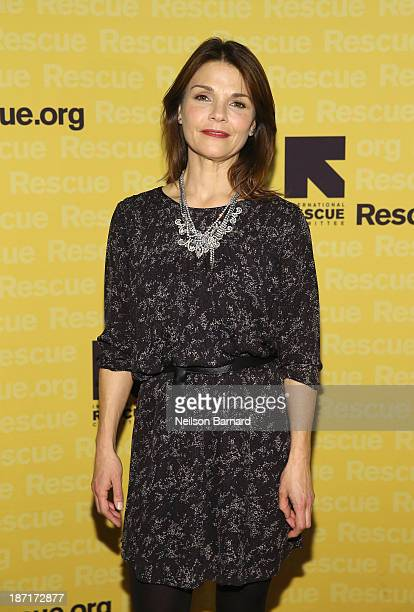 Actress Kathryn Erbe attends the Annual Freedom Award Benefit hosted by the International Rescue Committee at the WaldorfAstoria hotel on November 6...