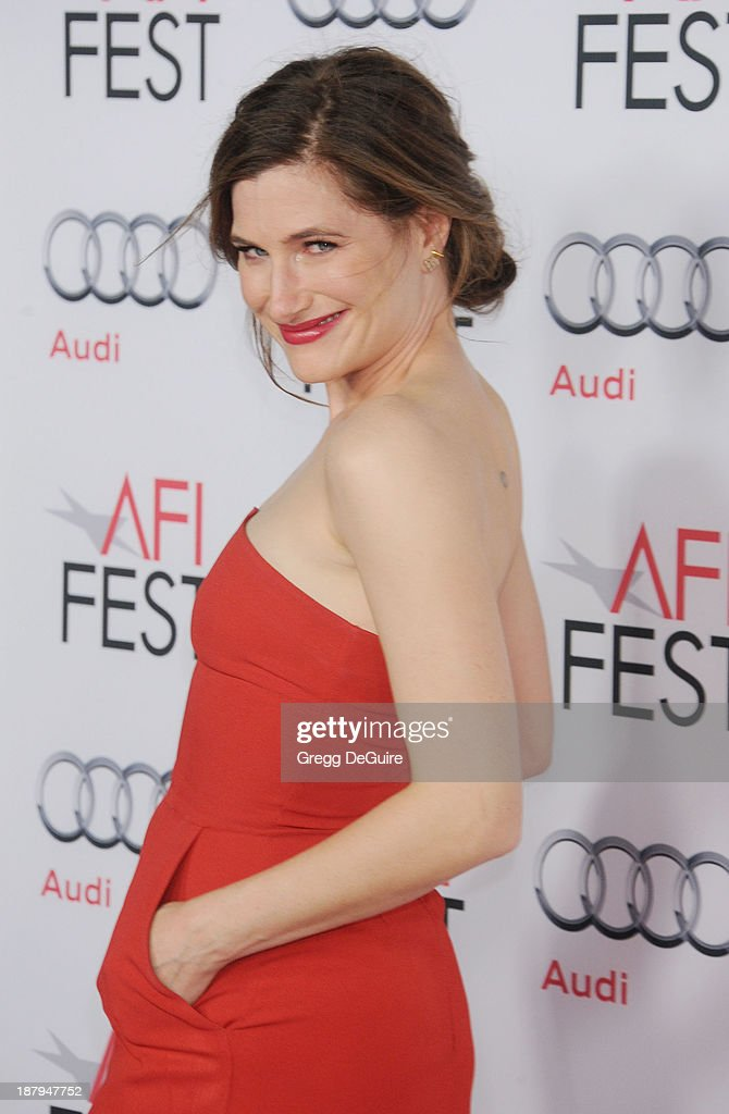 Actress Kathryn Hahn arrives at AFI FEST 2013 'The Secret Life Of Walter Mitty' premiere at TCL Chinese Theatre on November 13, 2013 in Hollywood, California.