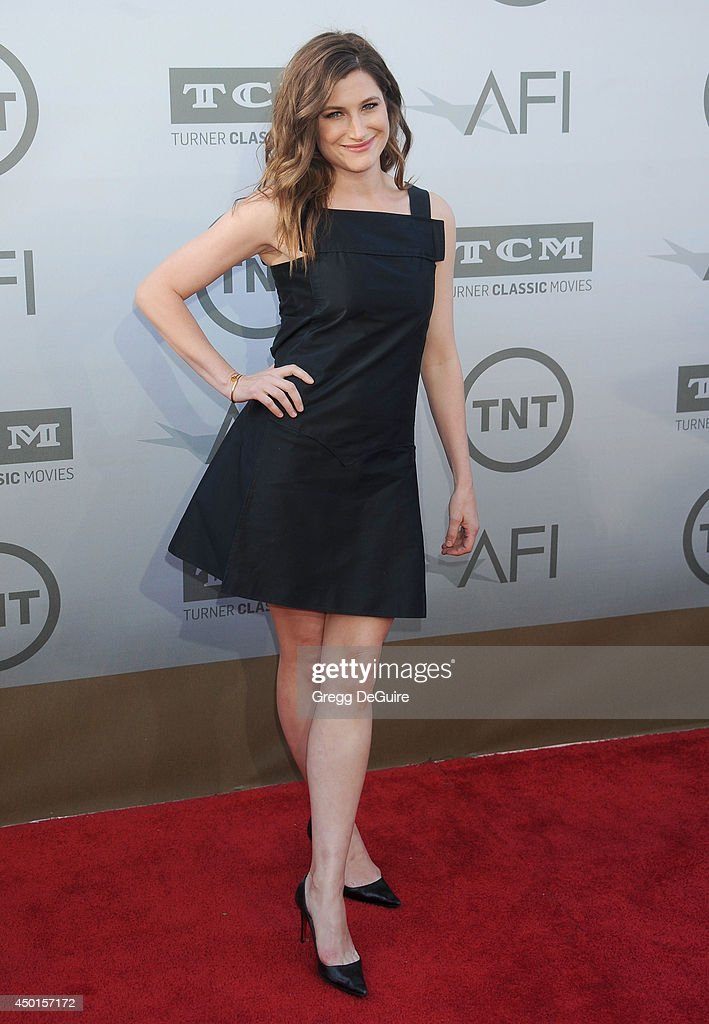 Actress Kathryn Hahn arrives at the 2014 AFI Life Achievement Award Gala Tribute at Dolby Theatre on June 5, 2014 in Hollywood, California.