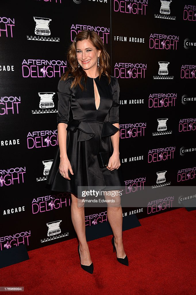 Actress <a gi-track='captionPersonalityLinkClicked' href=/galleries/search?phrase=Kathryn+Hahn&family=editorial&specificpeople=221548 ng-click='$event.stopPropagation()'>Kathryn Hahn</a> arrives at the Los Angeles premiere of 'Afternoon Delight' at ArcLight Hollywood on August 19, 2013 in Hollywood, California.