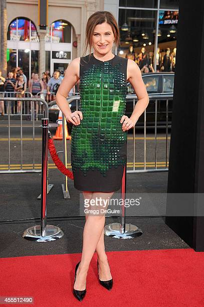 Actress Kathryn Hahn arrives at the Los Angeles premiere of 'This Is Where I Leave You' at TCL Chinese Theatre on September 15 2014 in Hollywood...
